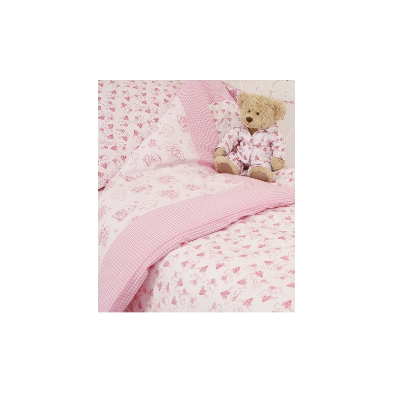 Toddler Bed Reversible Fairy Duvet Cover, Fairy Princess Twin Bedding